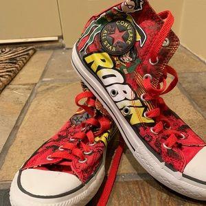 Kids Teen Titans Converse High Top Sneaker
